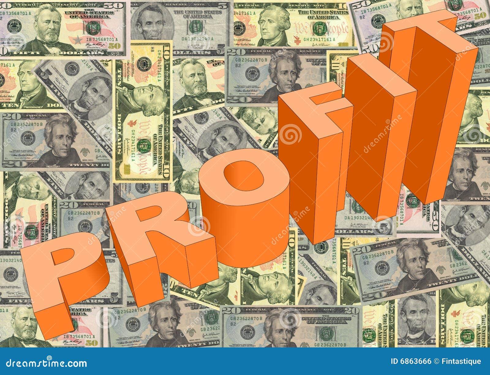 американские доллары профита