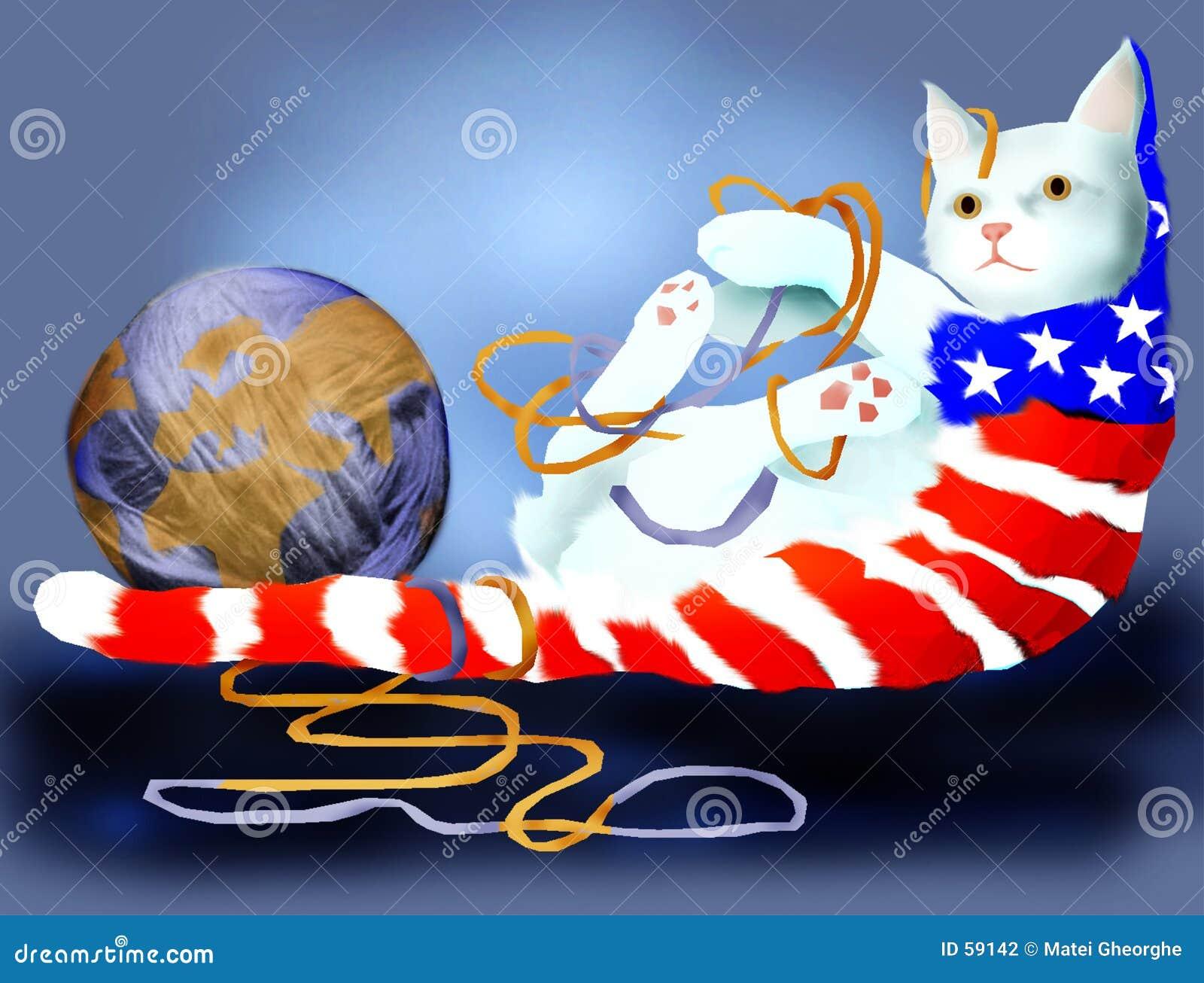 американский кот