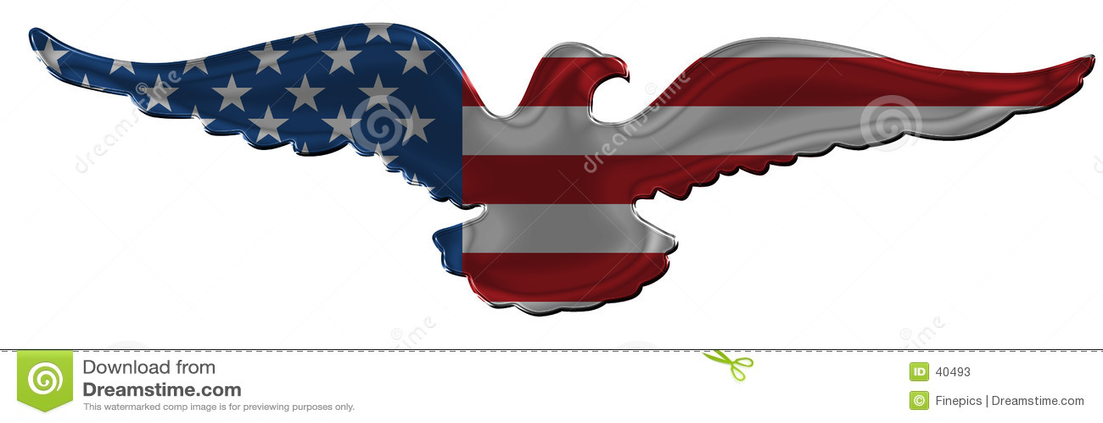 американский орел значка 2