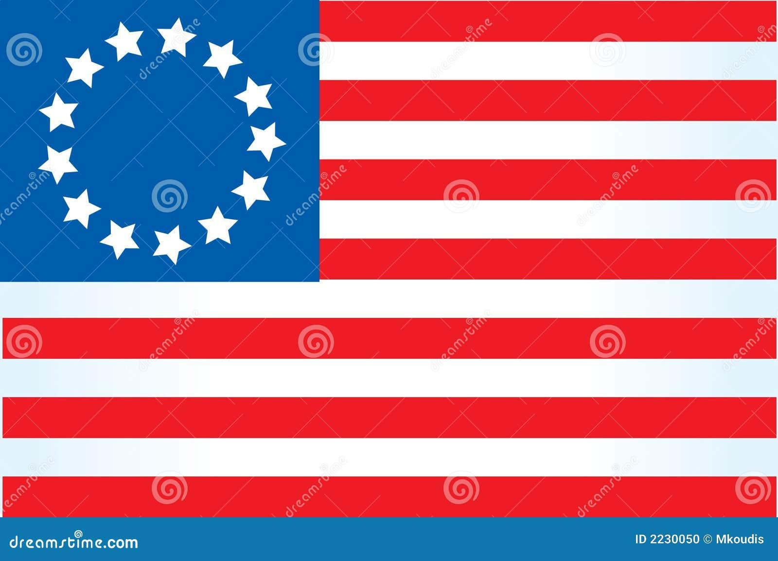 американский флаг 4