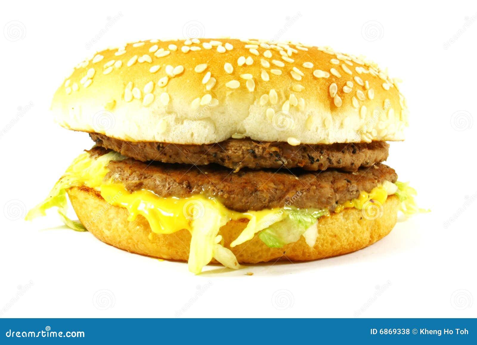 американский cheeseburger