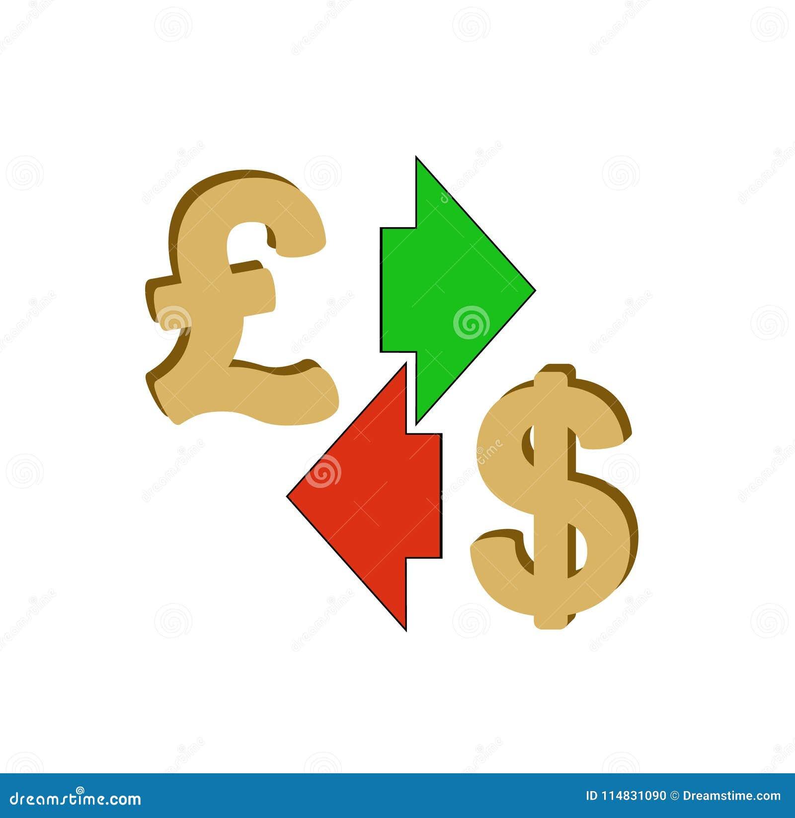 Английский фунт обменом к доллару