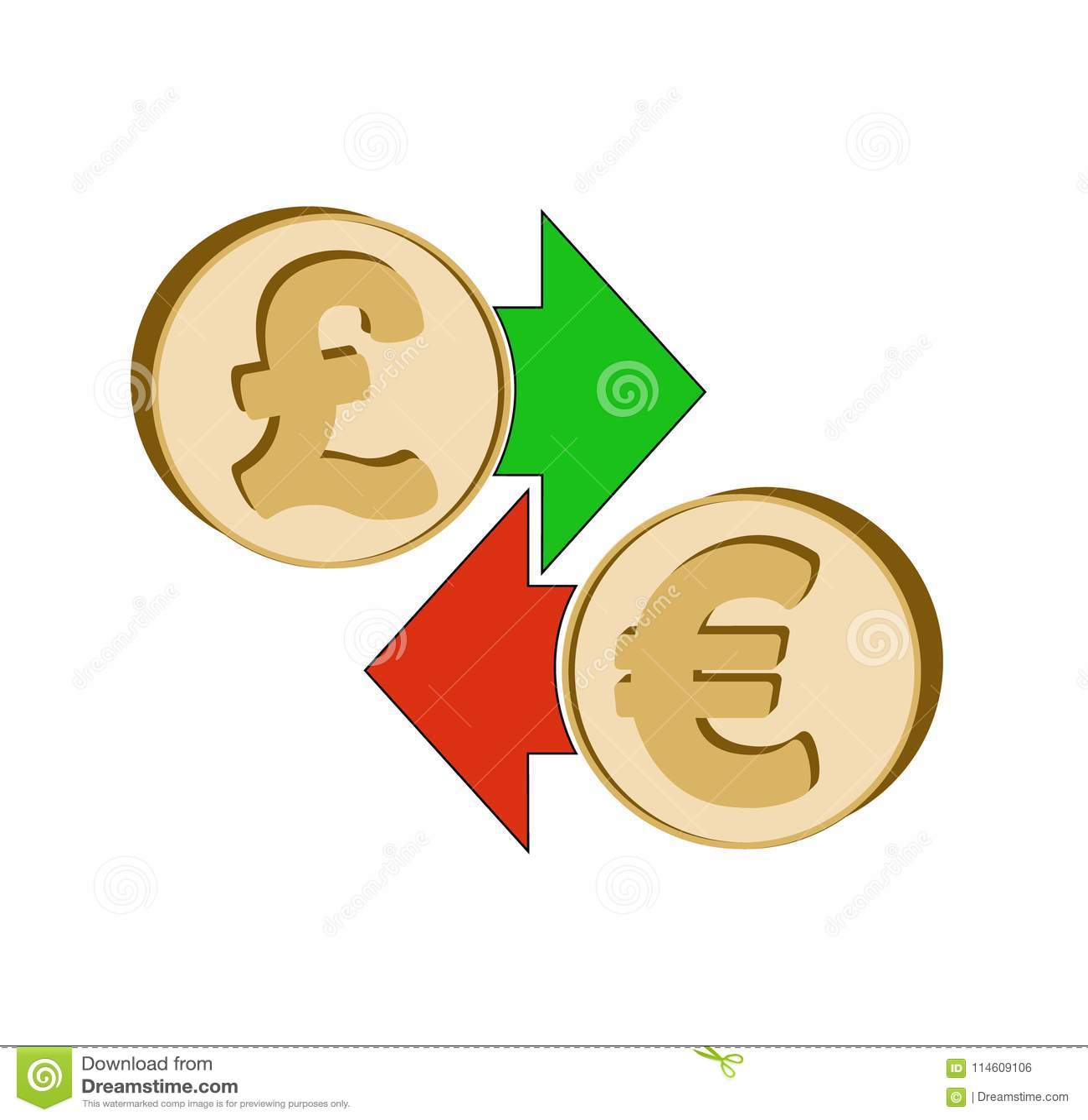 Английский фунт обменом к евро