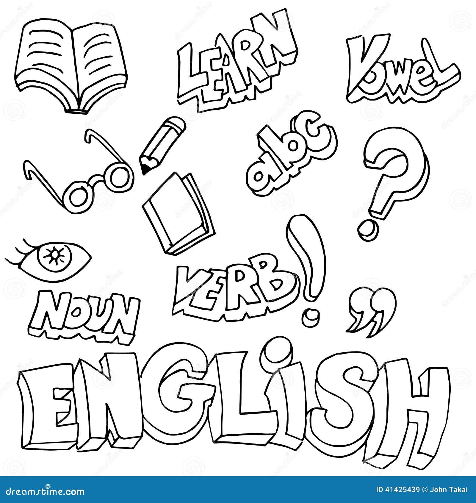 Английские символы и детали учить