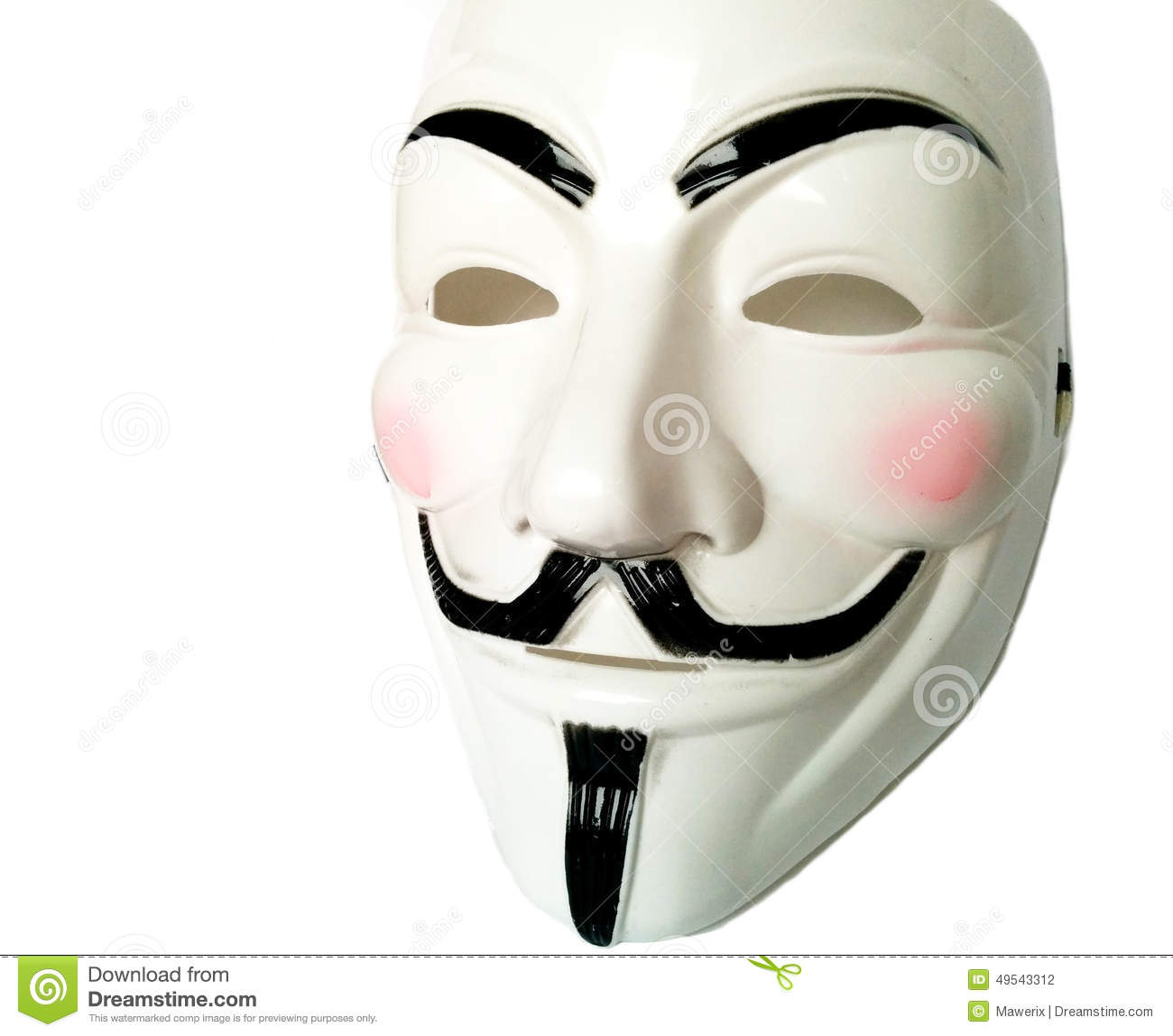 V for vendetta mask  Etsy