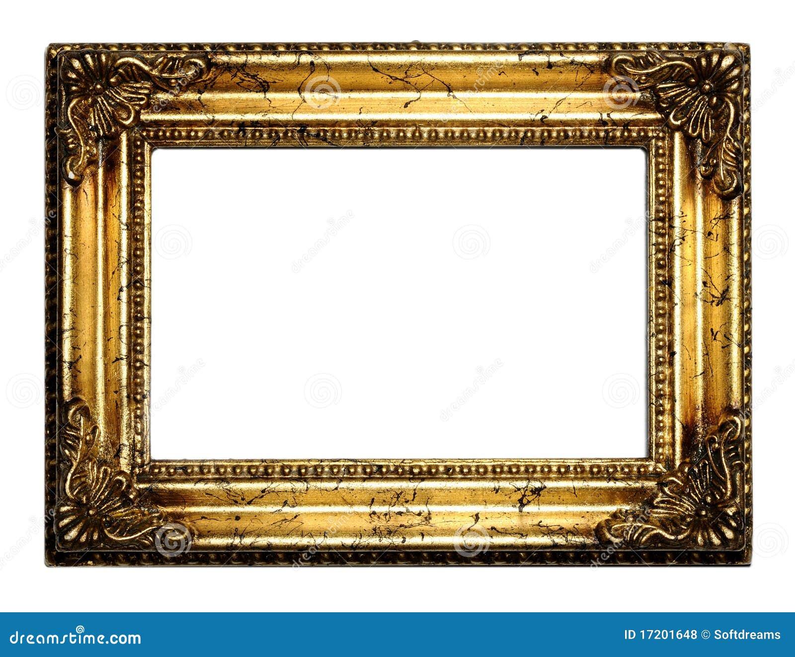 античное золото рамки