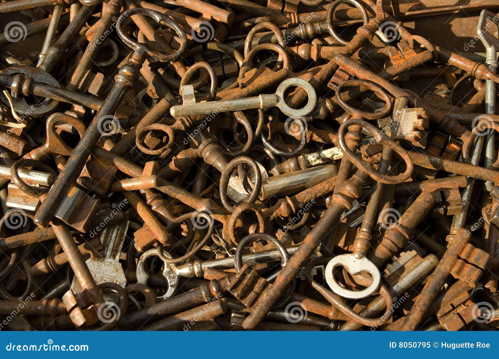 античные ключи