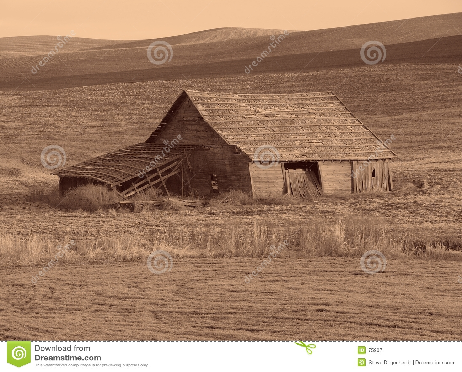 античный амбар