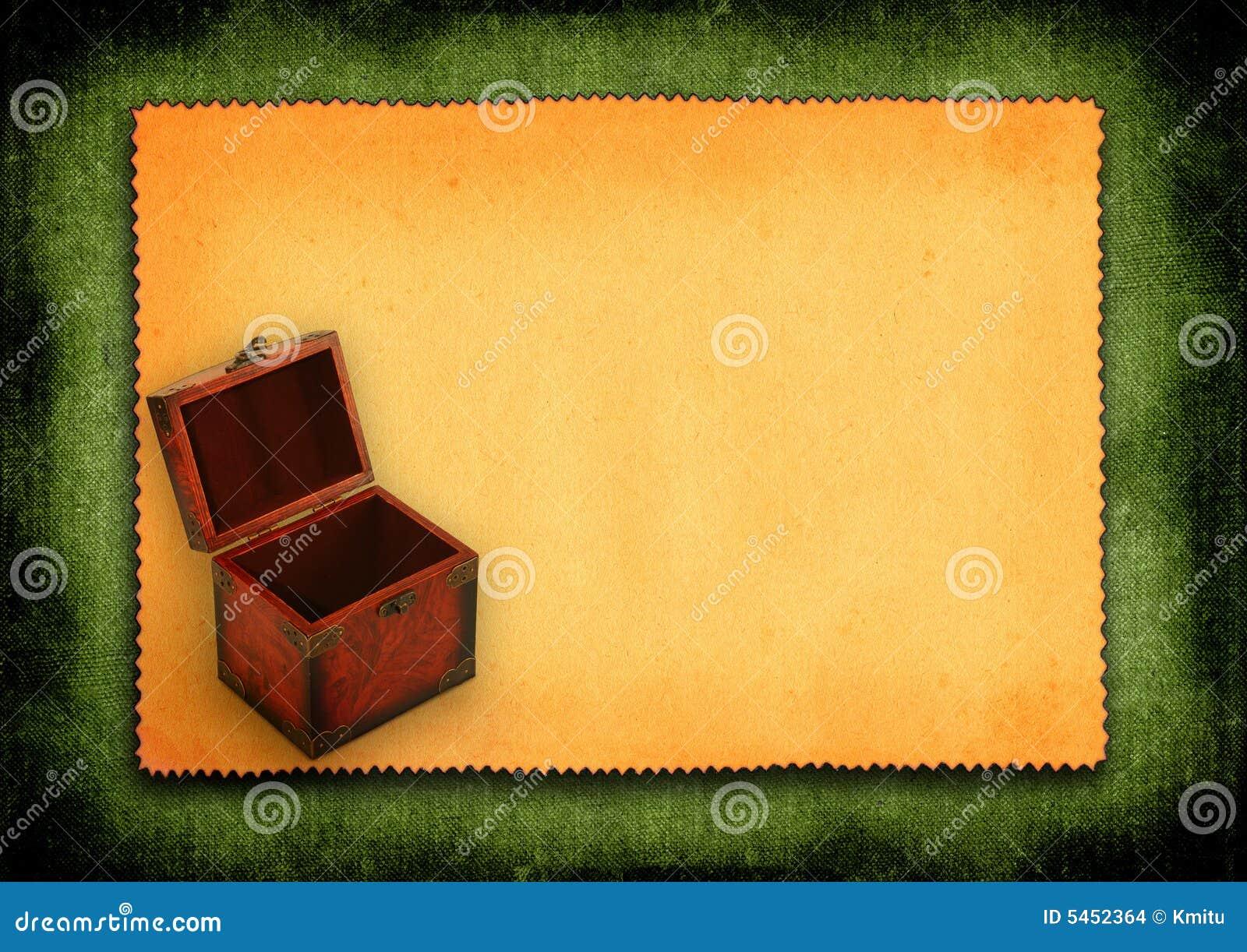 античный бумажный хобот деревянный