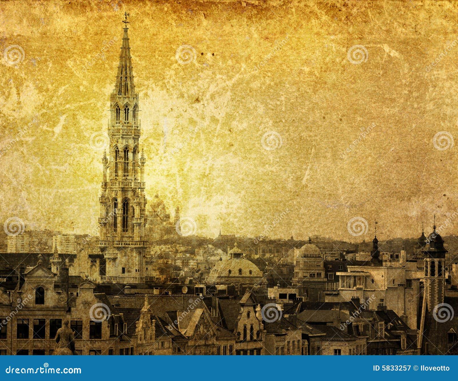 античный город европа здания