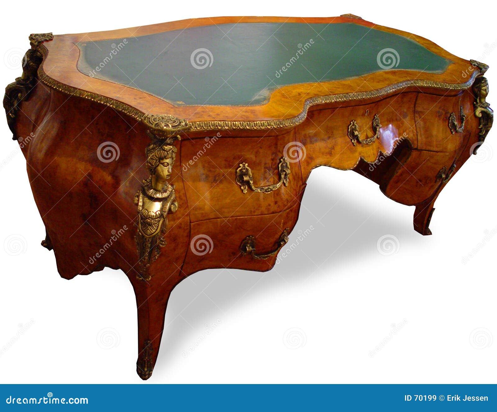 античный стол