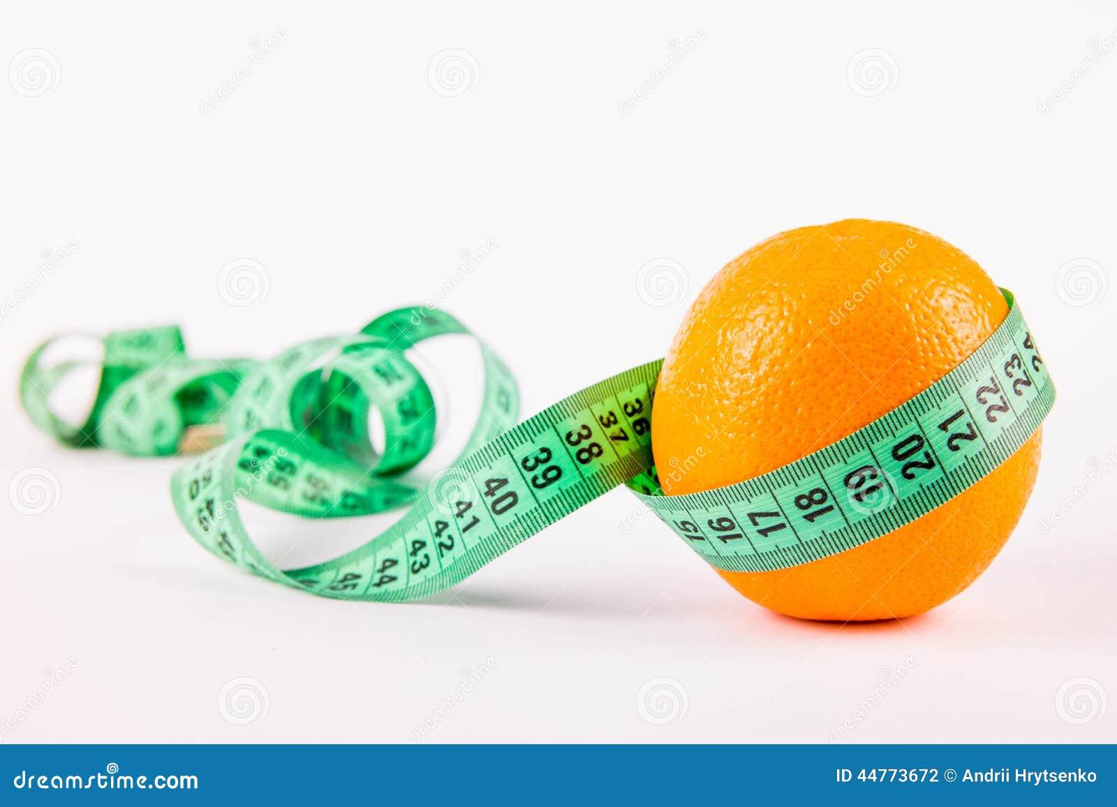 Апельсин и метр