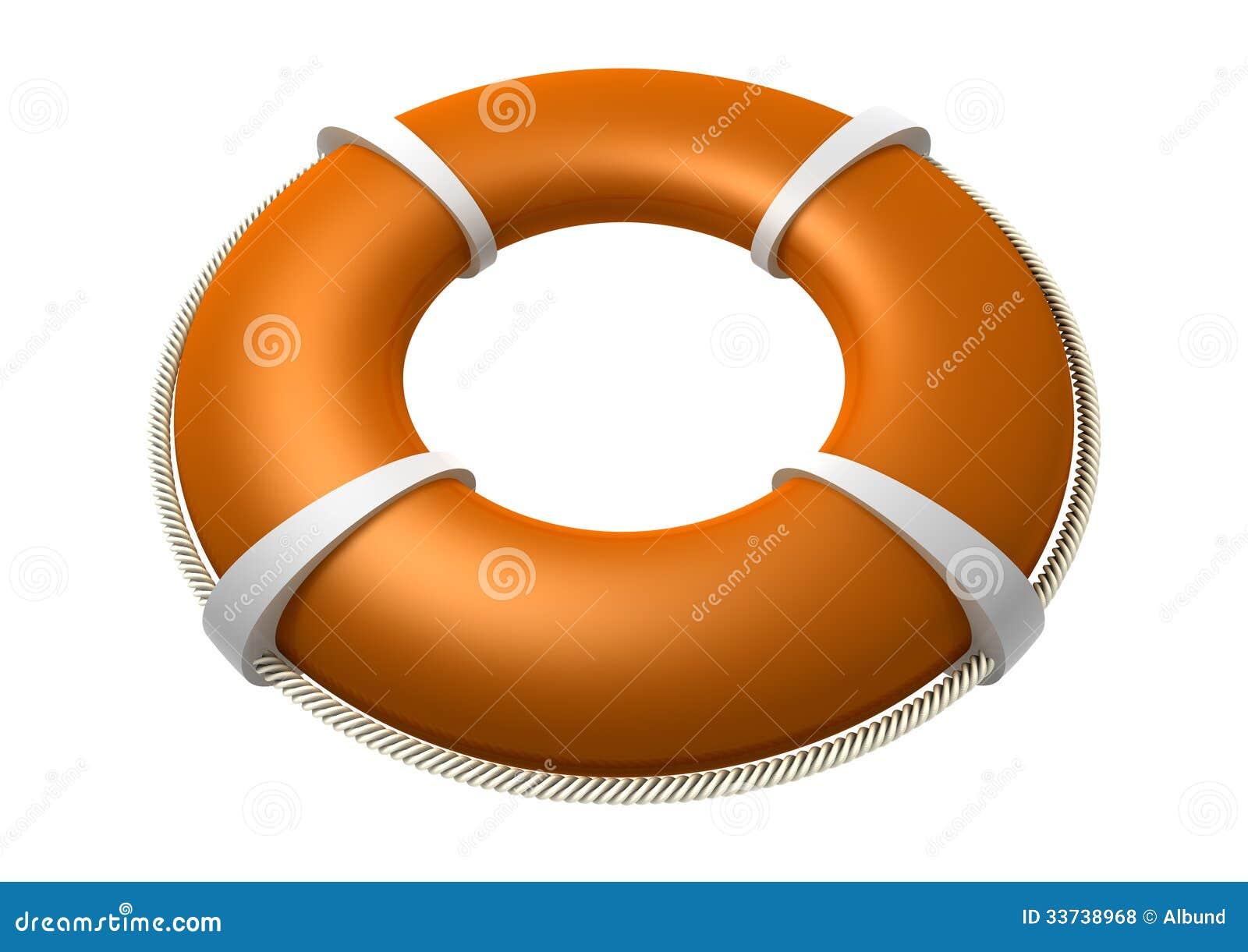 Апельсин Lifebuoy спасения