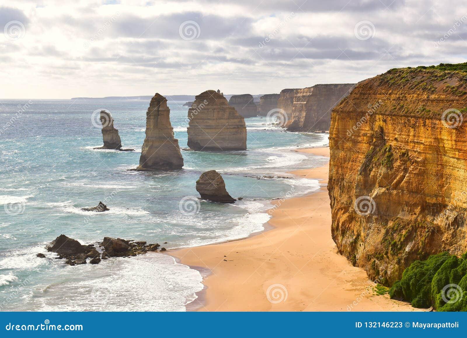 12 апостола в Виктории, Австралии