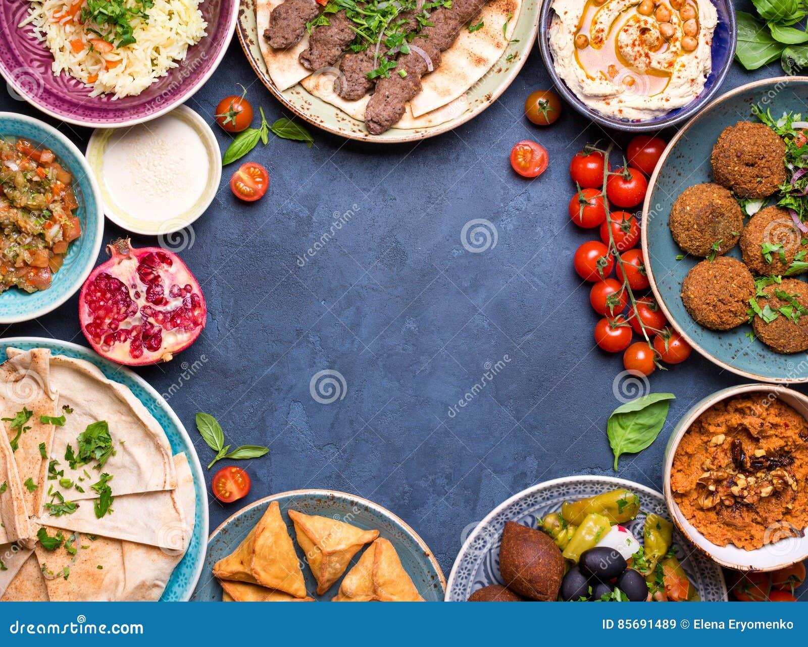 Арабская предпосылка блюд