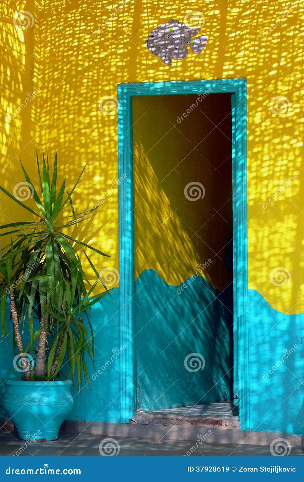 арабский тип Марокко двери