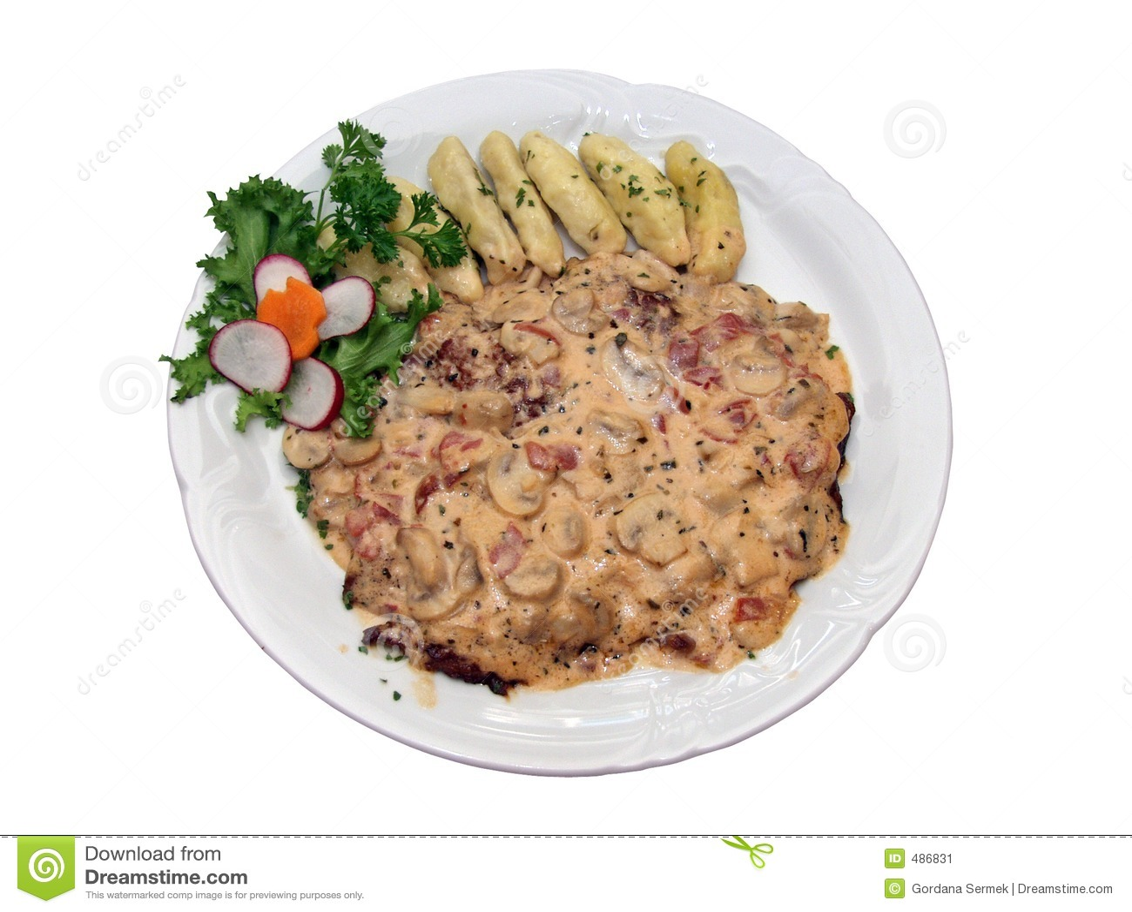 аранжированная красивейше плита еды