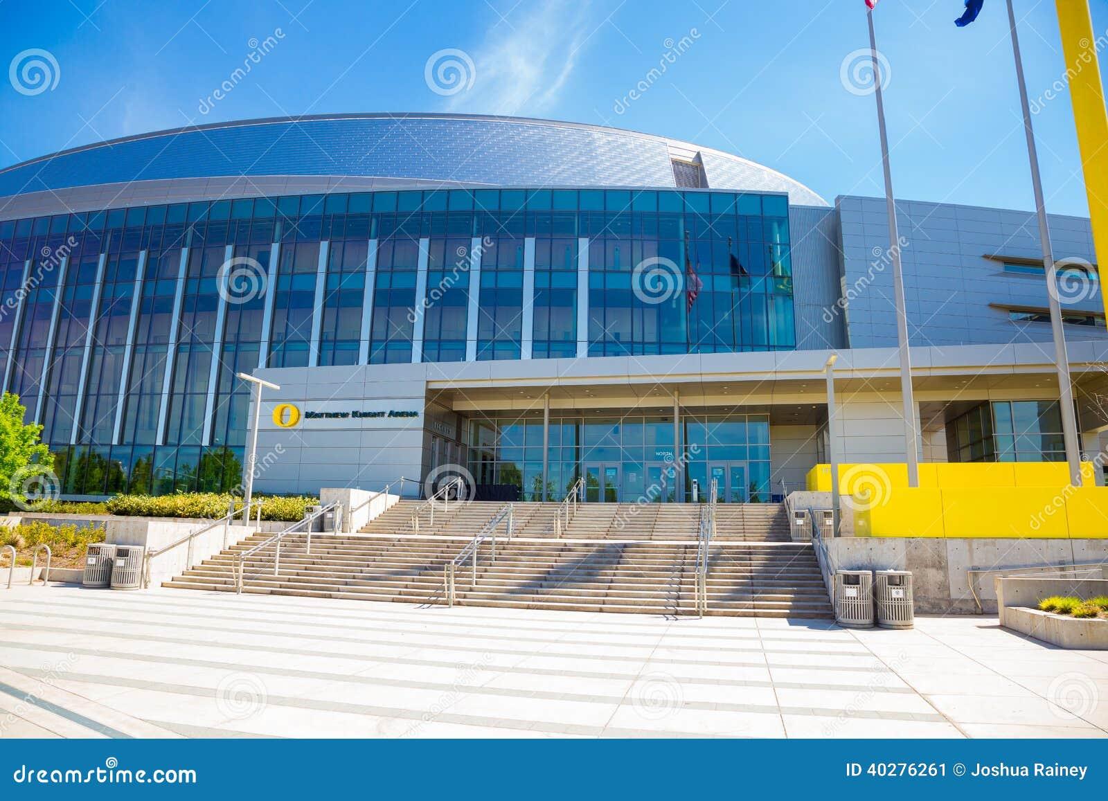 Арена баскетбола рыцаря Мэттью в университете  Орегона