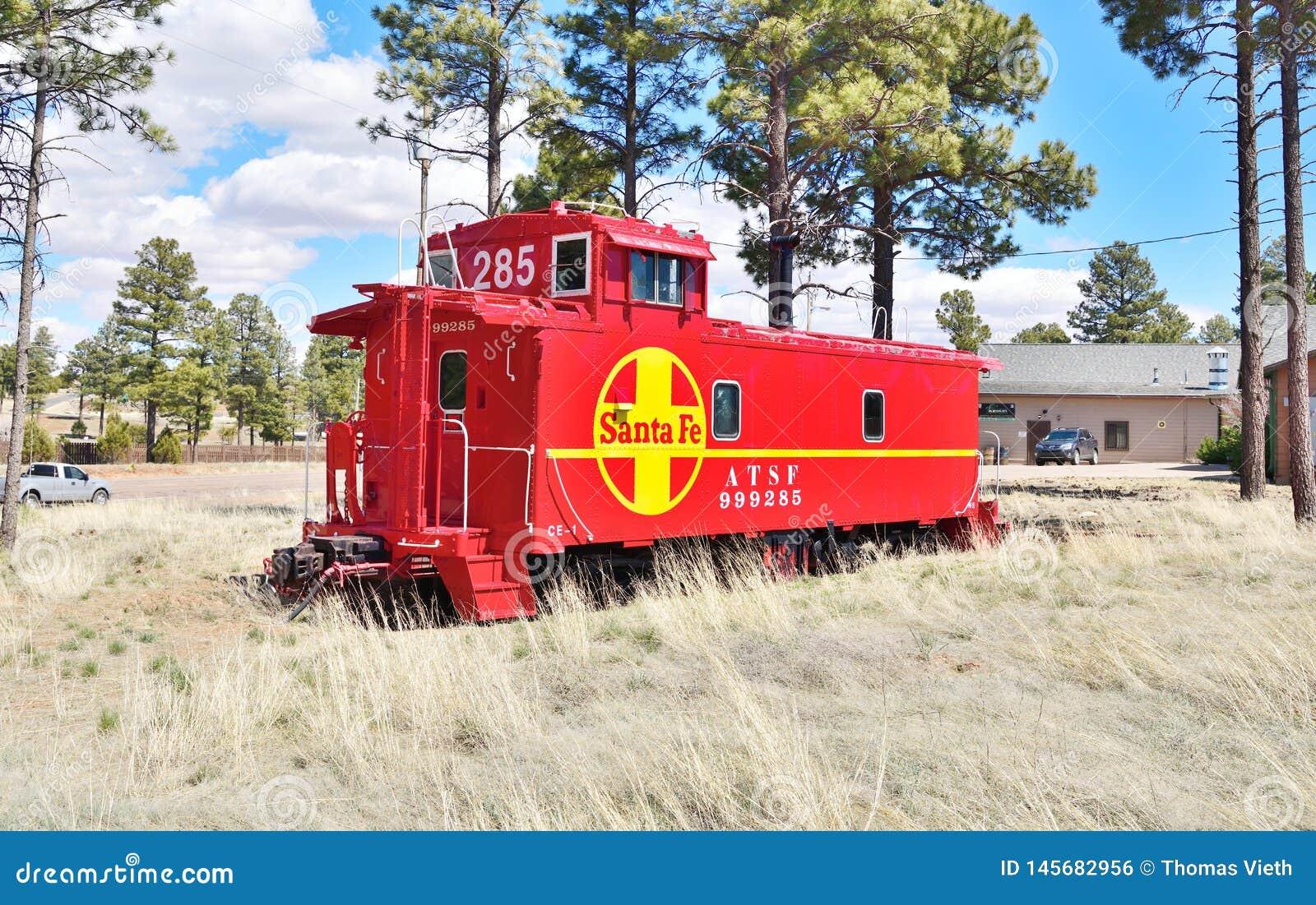 Аризона, Overgaard: Приведенный камбуз Nr ATSF 999285