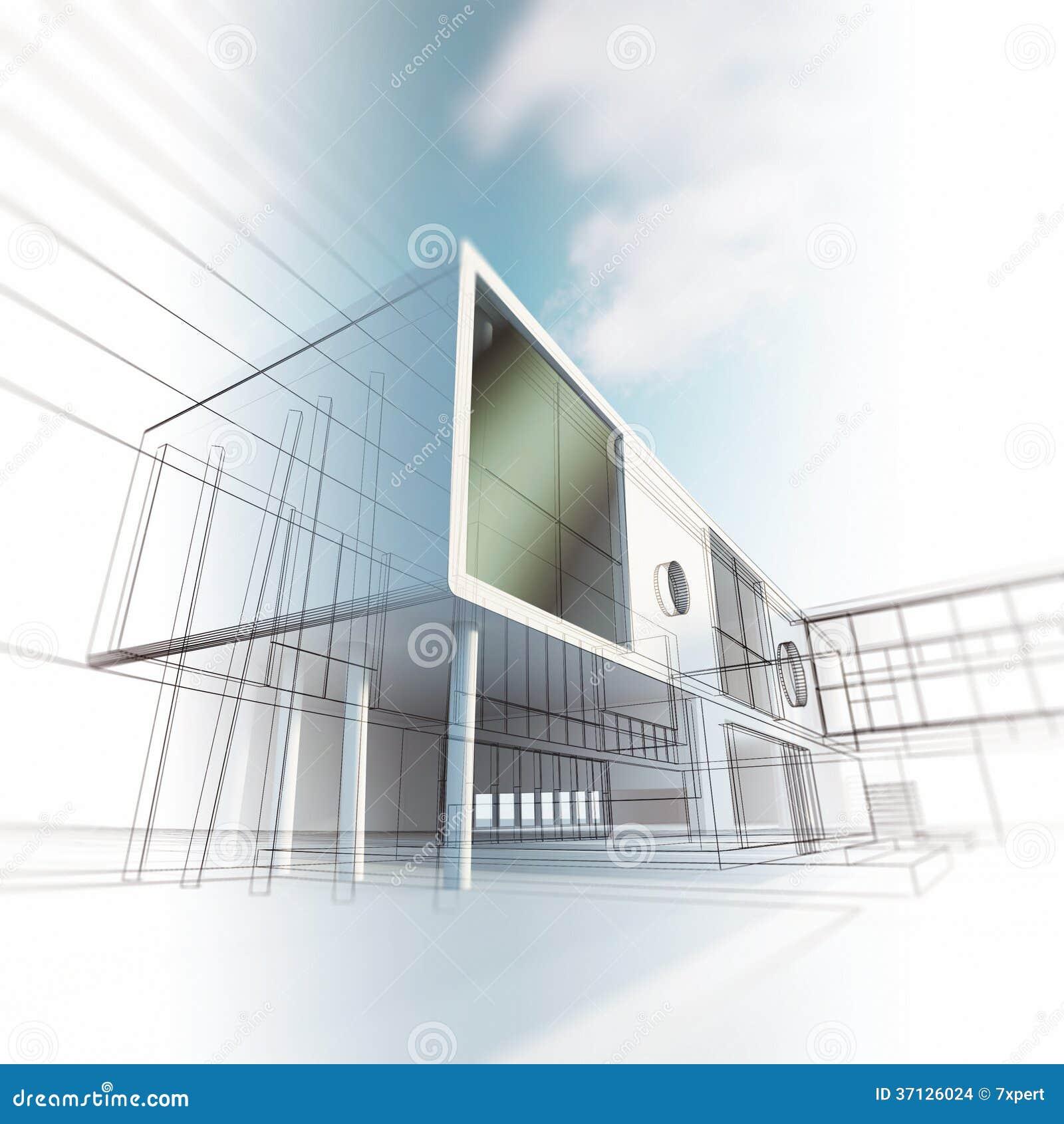 for Arquitectura minimalista concepto