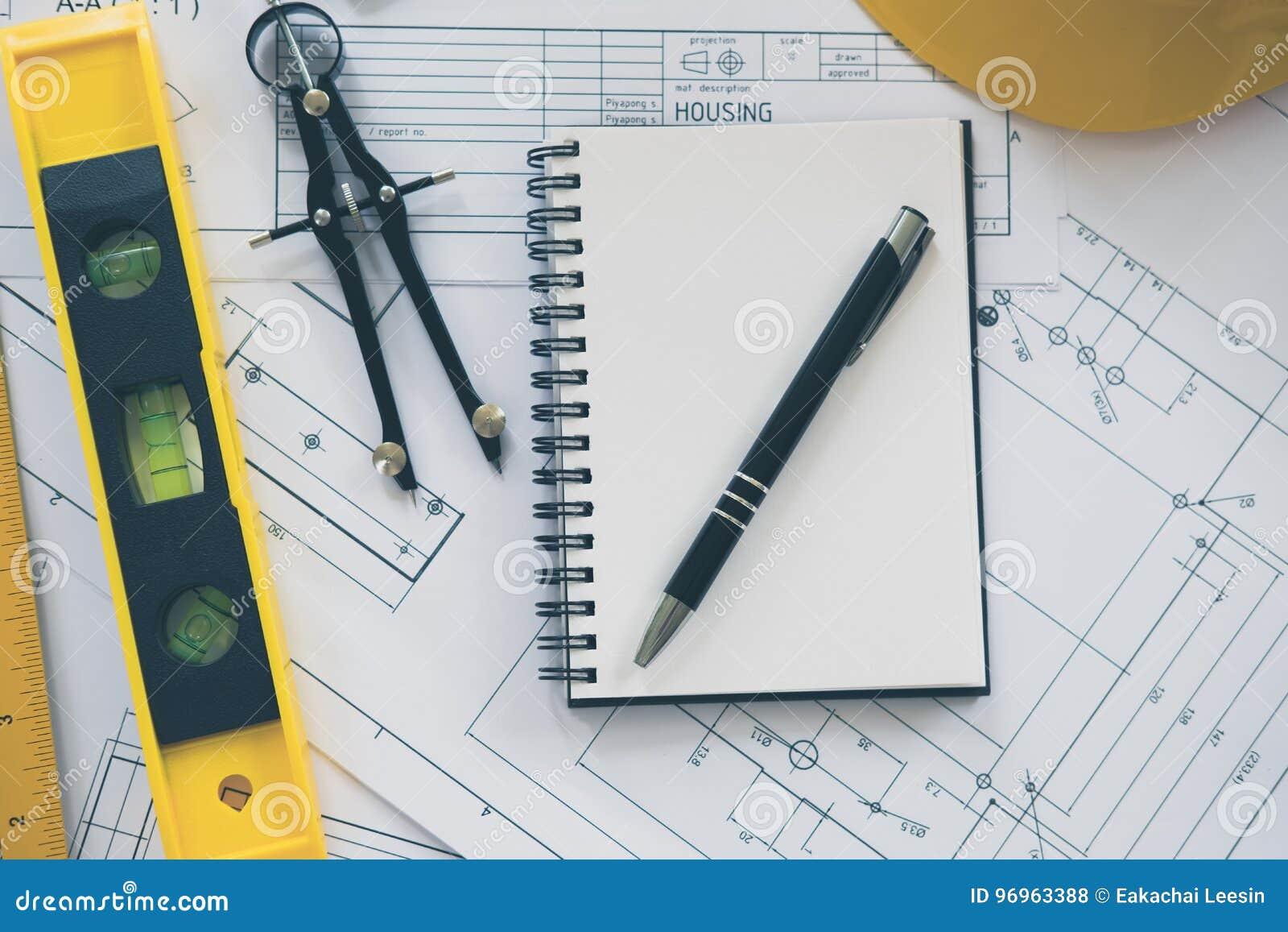 Архитектура, проектирующ планы и оборудование чертежа
