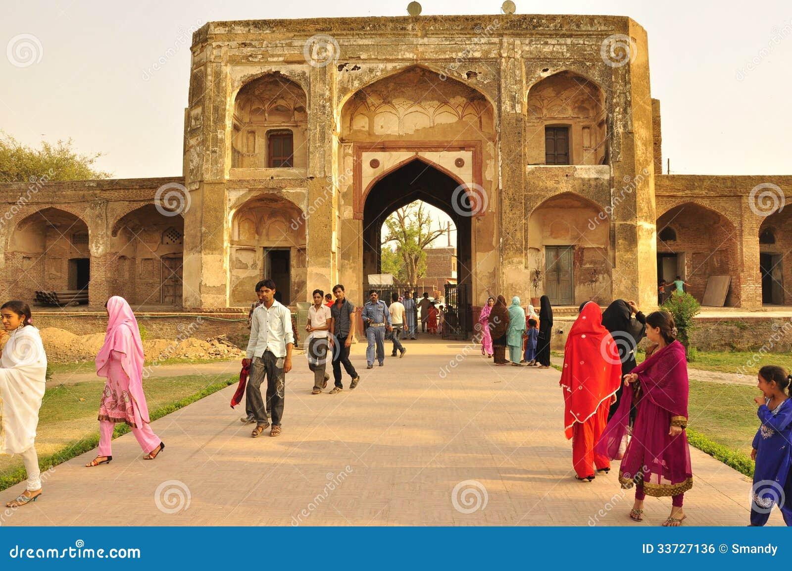Архитектура Mughal, Лахор