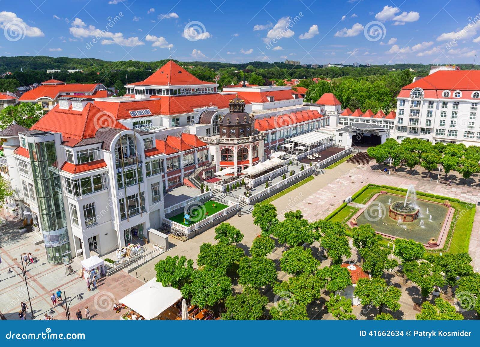 Архитектура Sopot на Molo в Польше