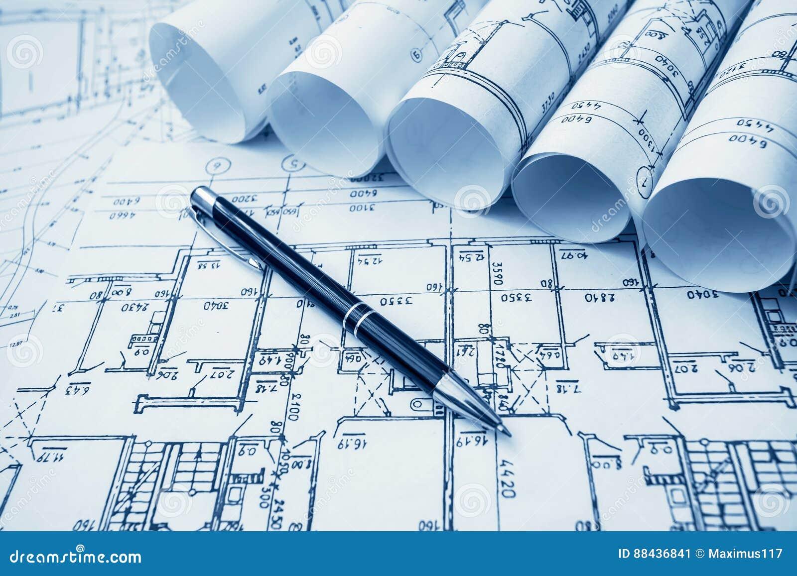 Архитектурноакустический проект, светокопии, blueprin