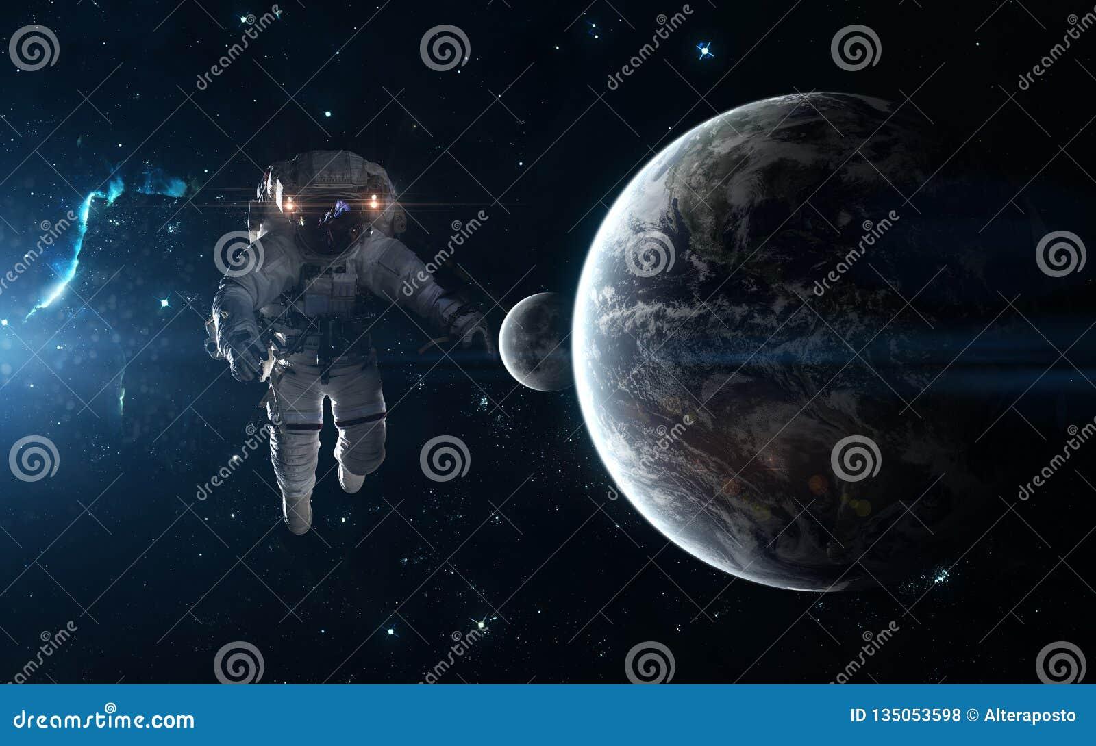 Обои астронавт, земля. Фантастика foto 16