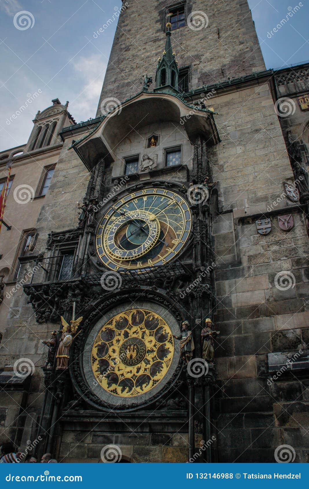 Астрономические часы Праги или Прага Orloja