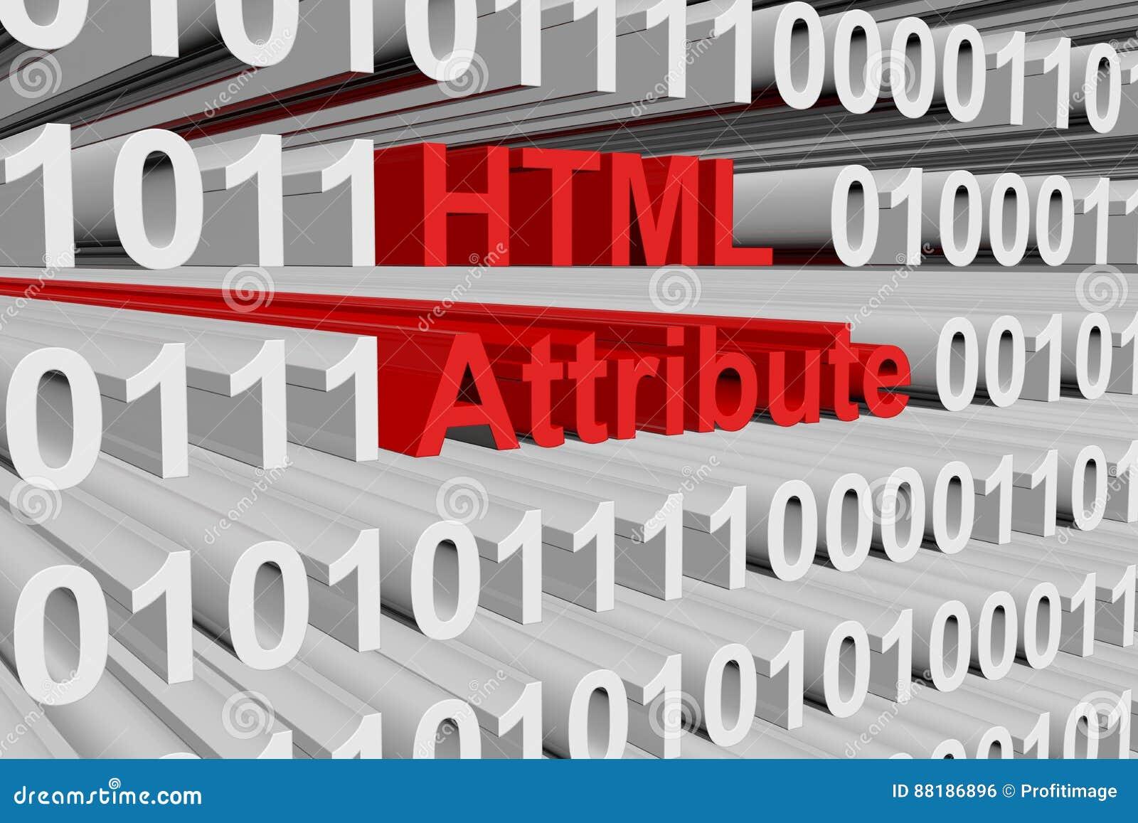 Атрибут HTML