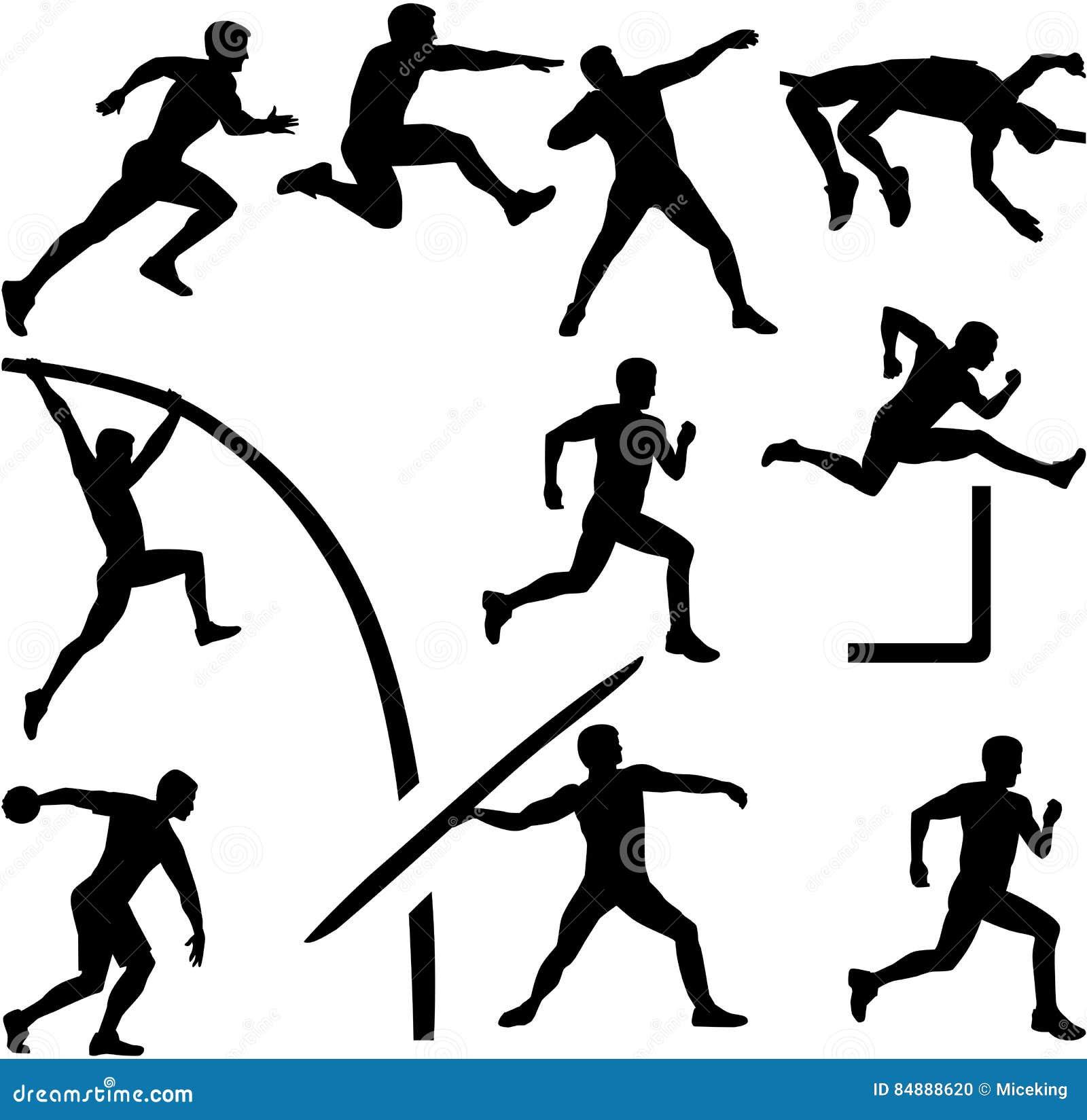 Легкая атлетика картинки распечатать