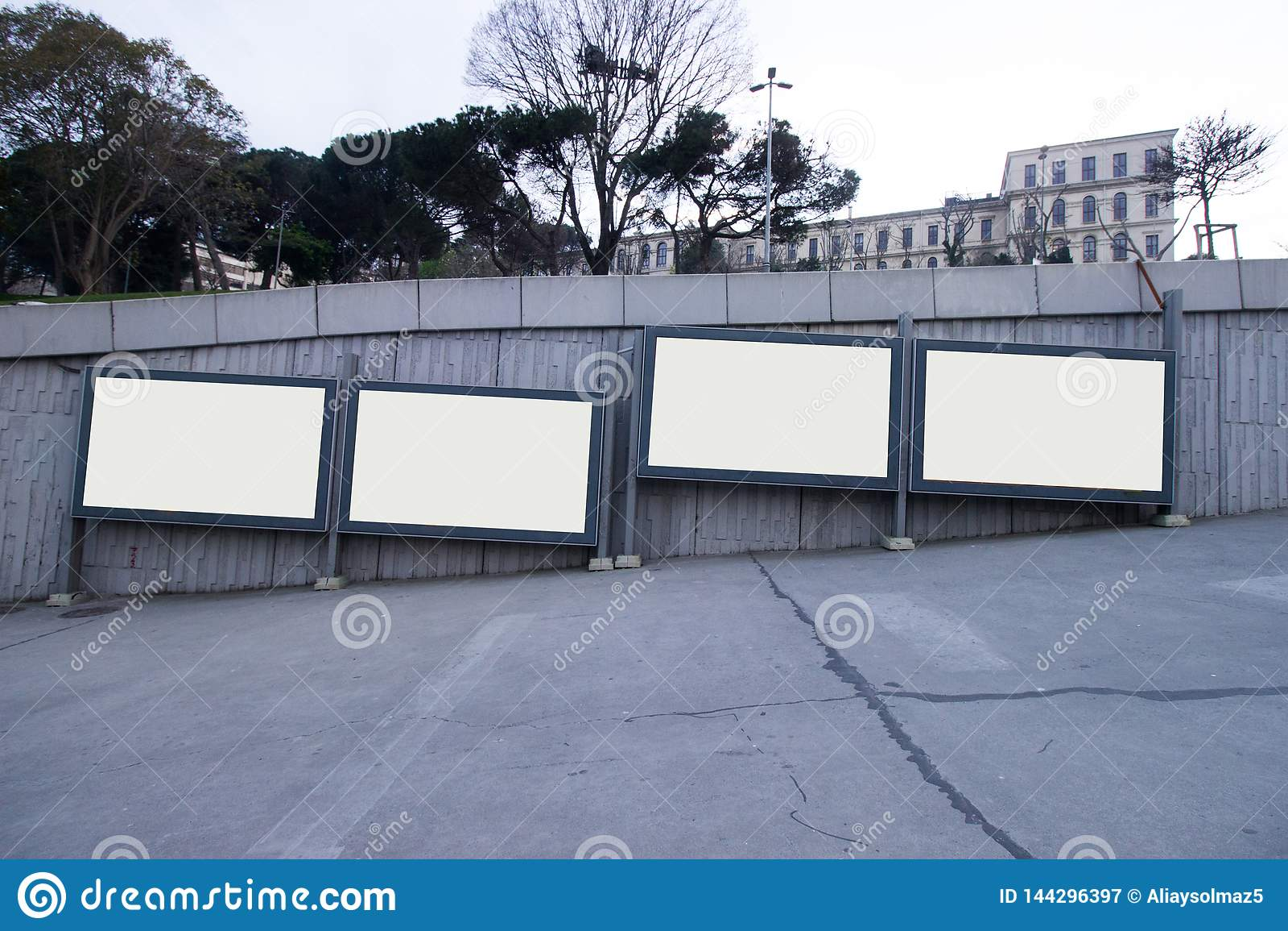 Афиши пробела Стамбула выравнивая время - афишу для рекламы - на открытом воздухе афиша