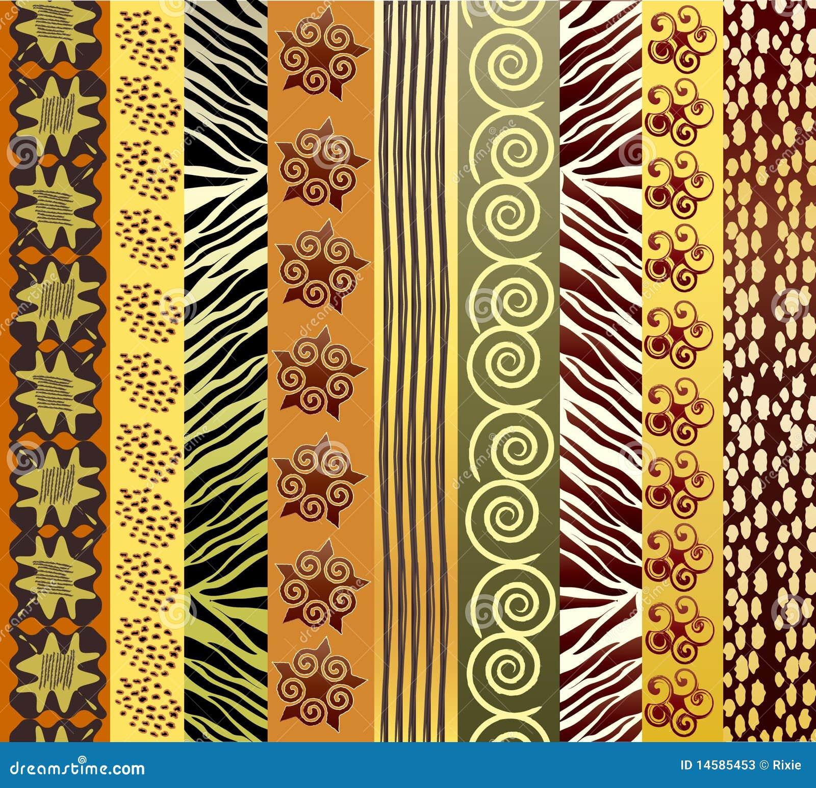 африканская ткань
