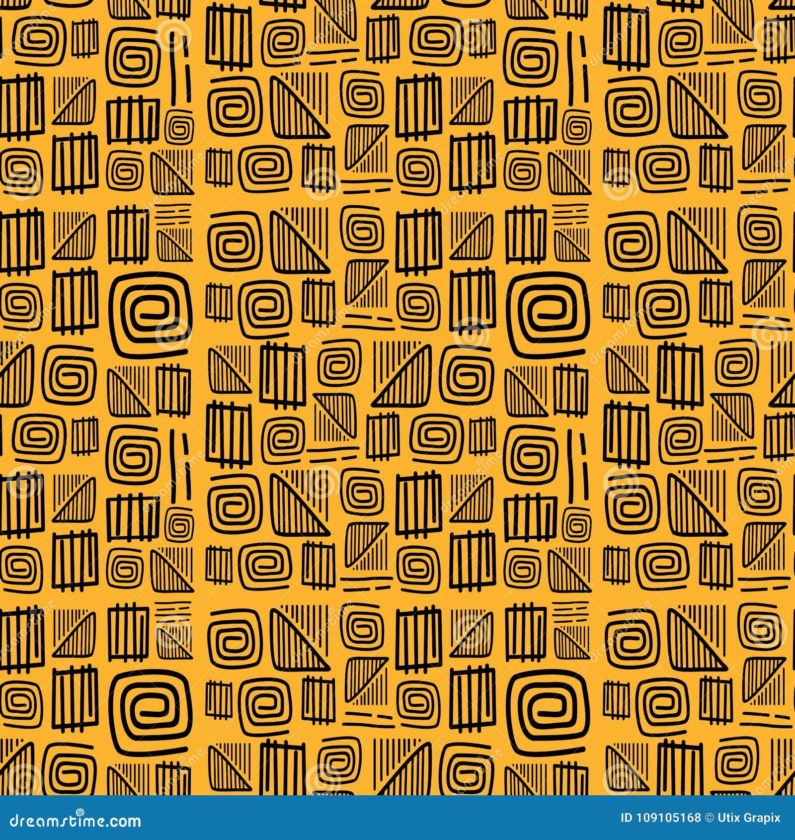 Африканский вектор картины