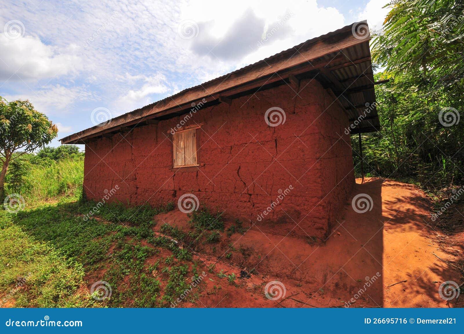 Африканский класс начальной школы