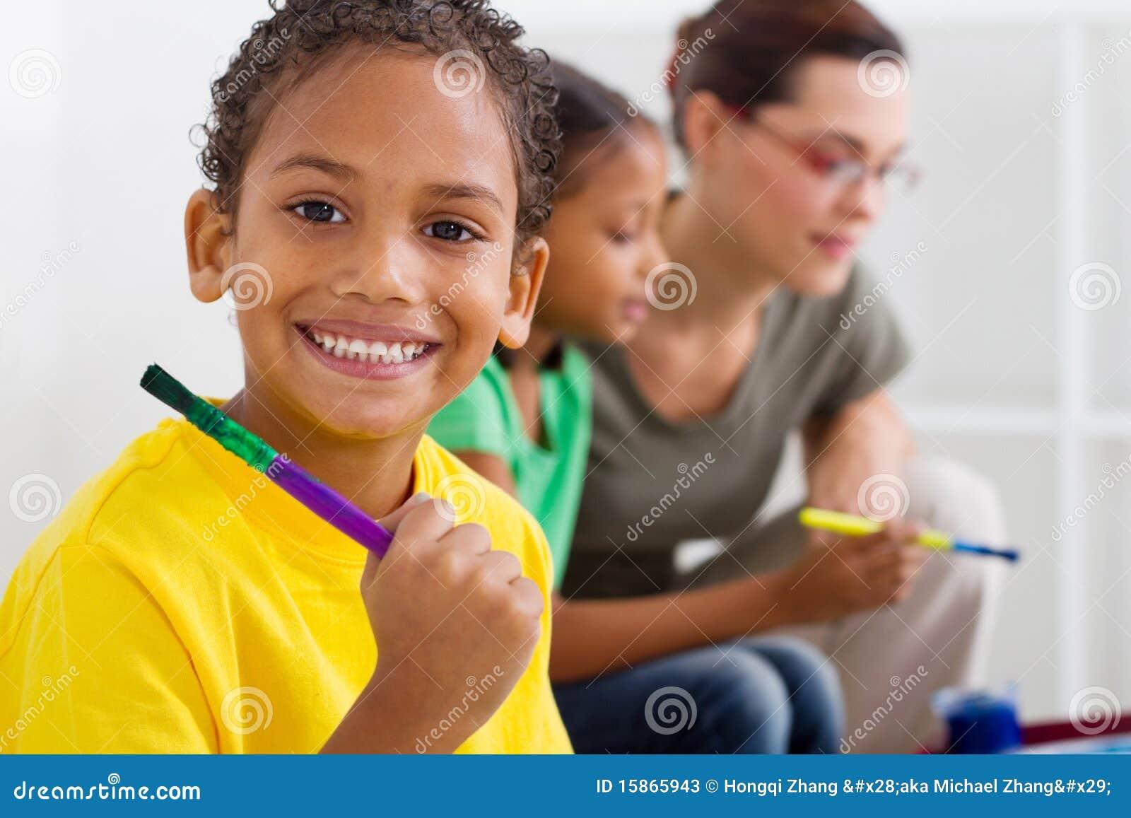 африканский preschooler