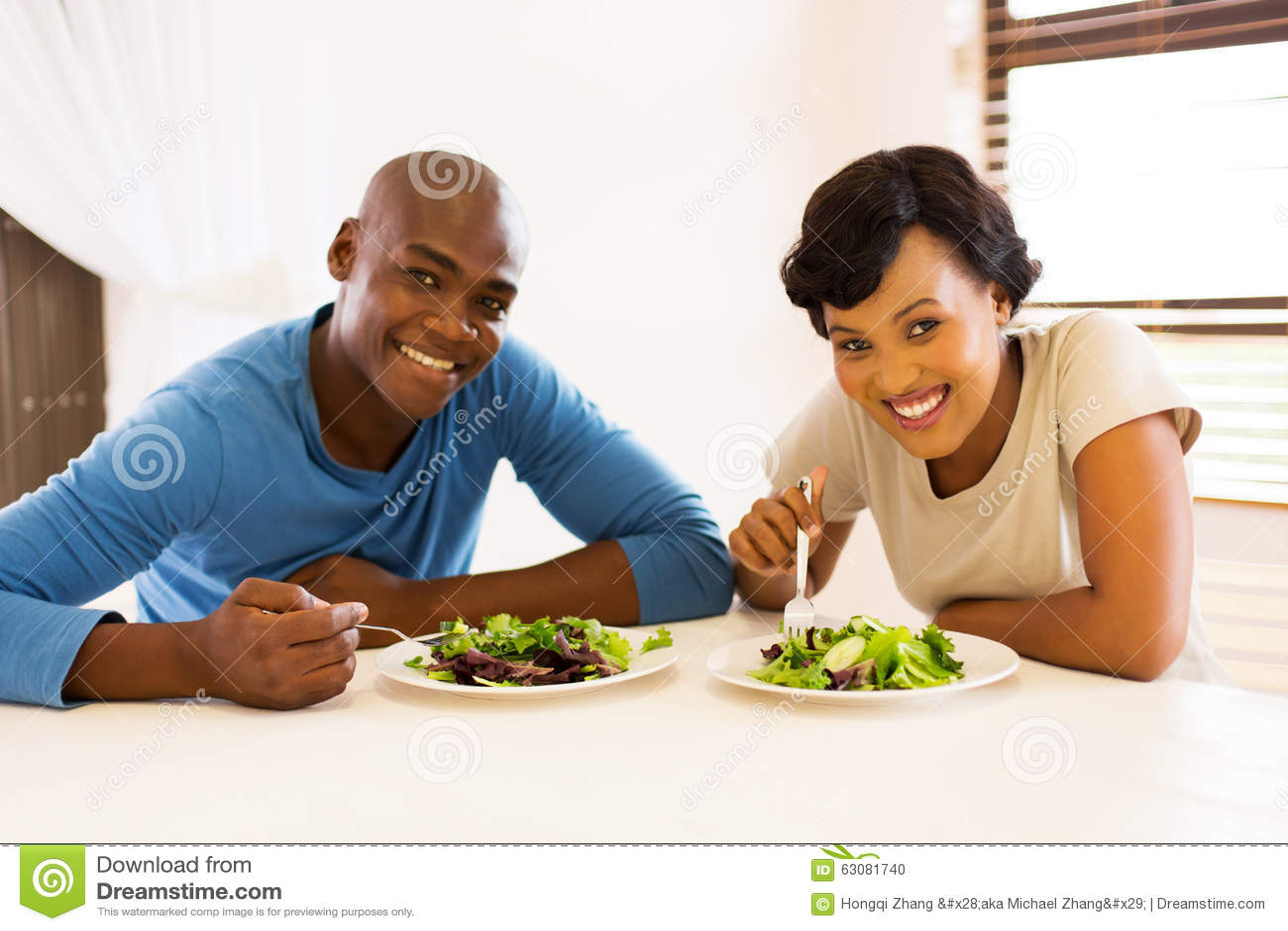 Афро-американская еда пар