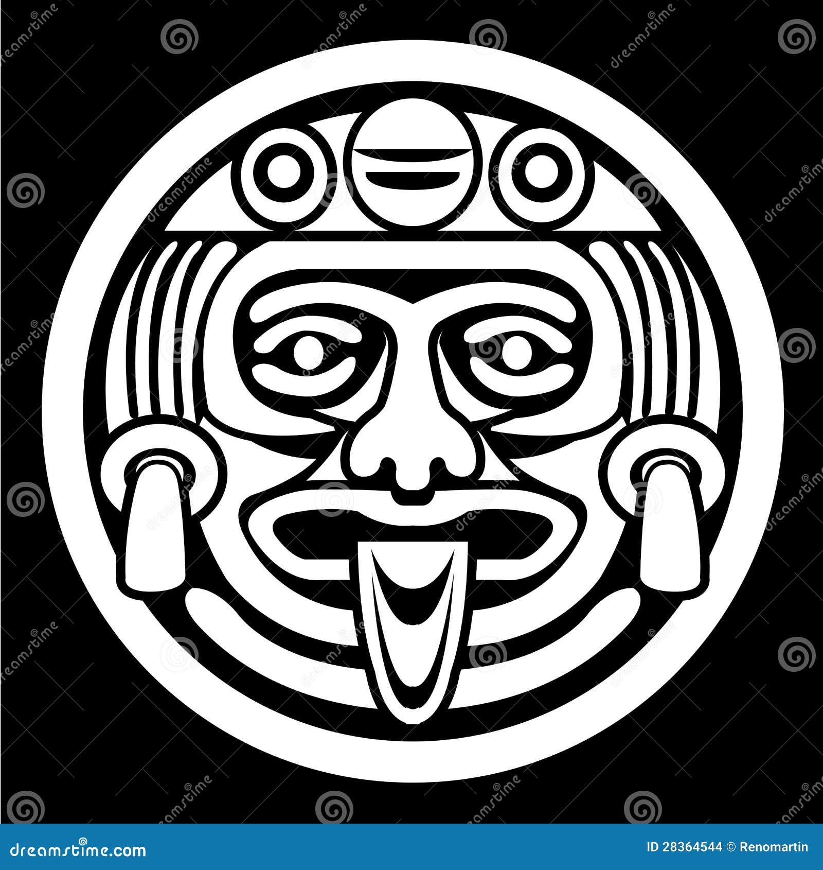 Ацтекский лицевой щиток гермошлема