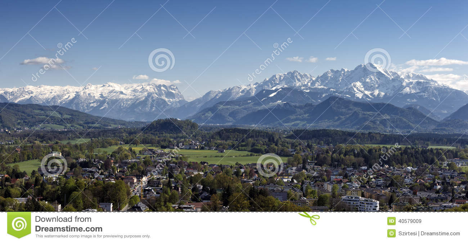 Альпы на Зальцбурге