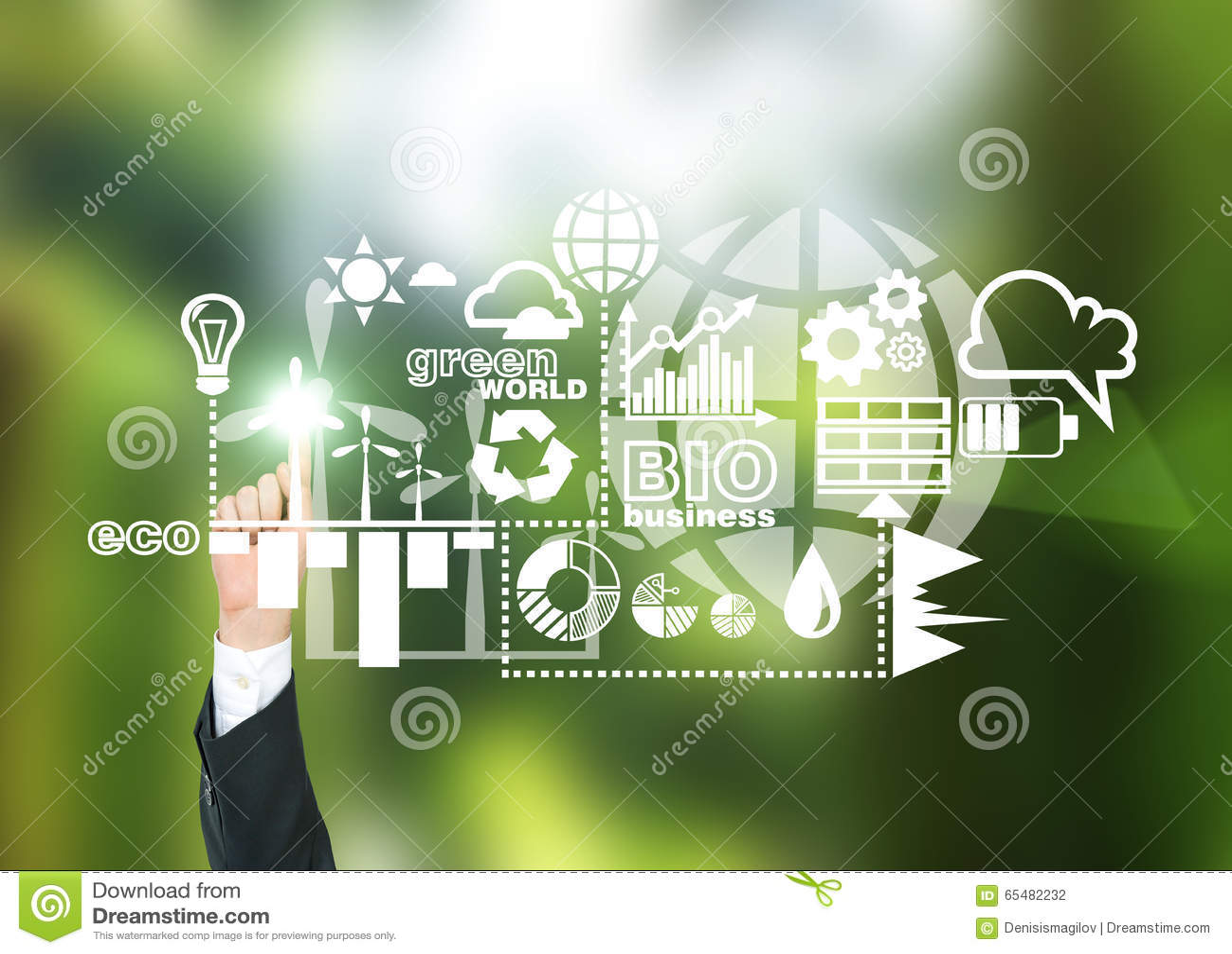 Альтернативная энергия, чистая окружающая среда