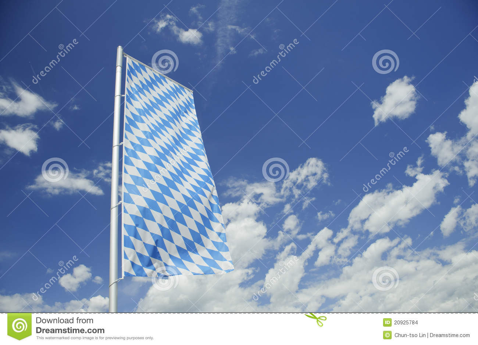 баварский флаг Стоковые Изображения - изображение: 20925784  Баварский Флаг
