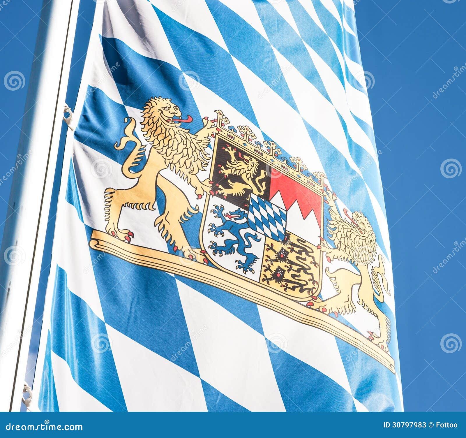 Баварский флаг  Баварский Флаг