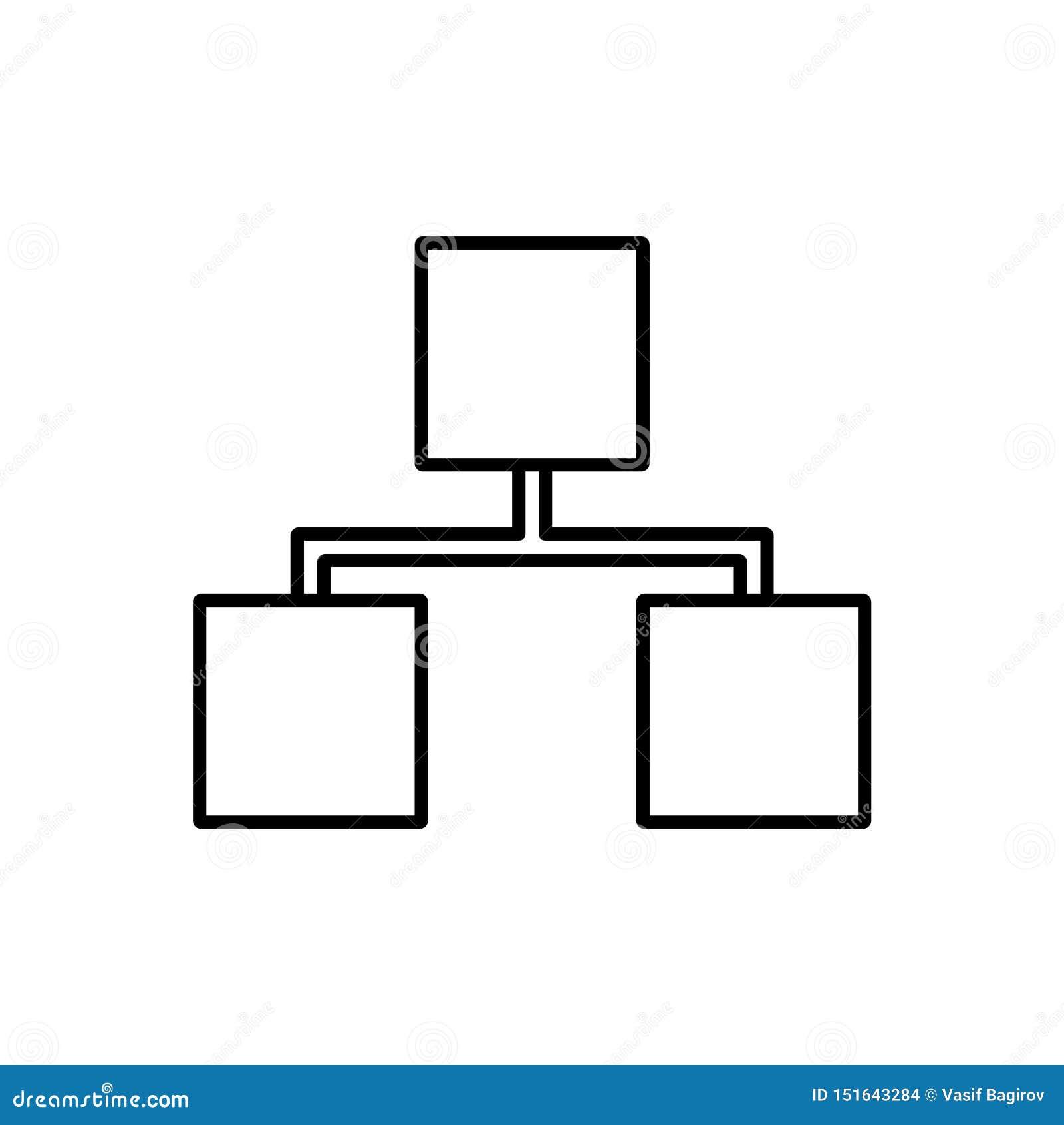 База данных, сервер, значок хранения - вектор Значок вектора базы данных