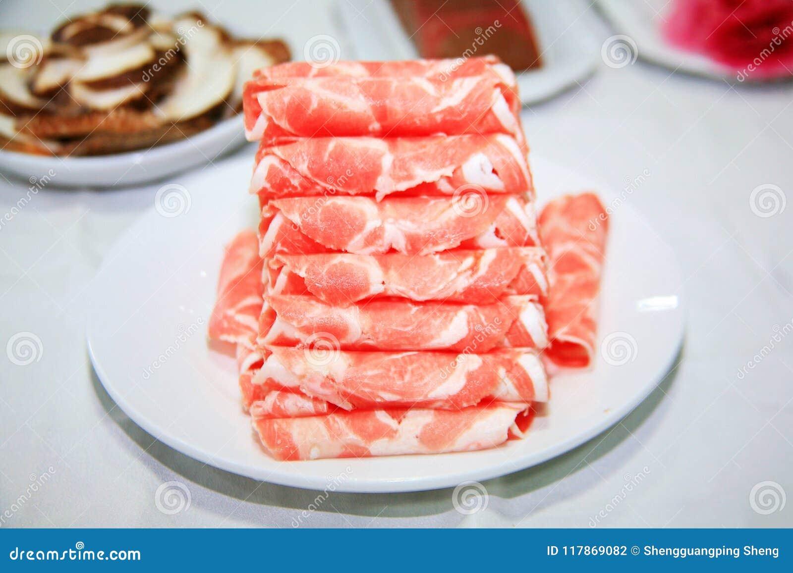 Бак китайской еды горячий - материалы еды