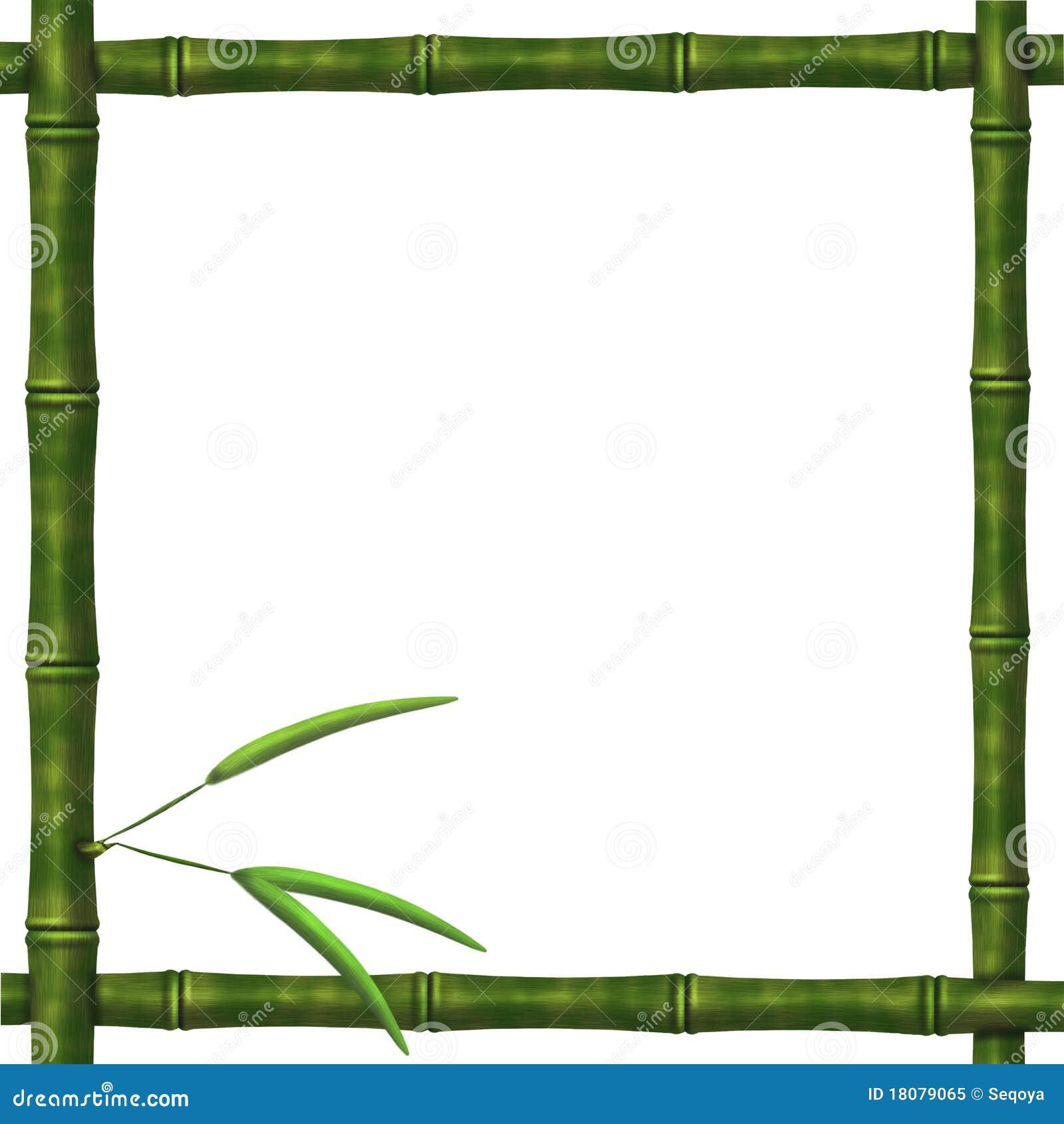 Рамка из бамбук