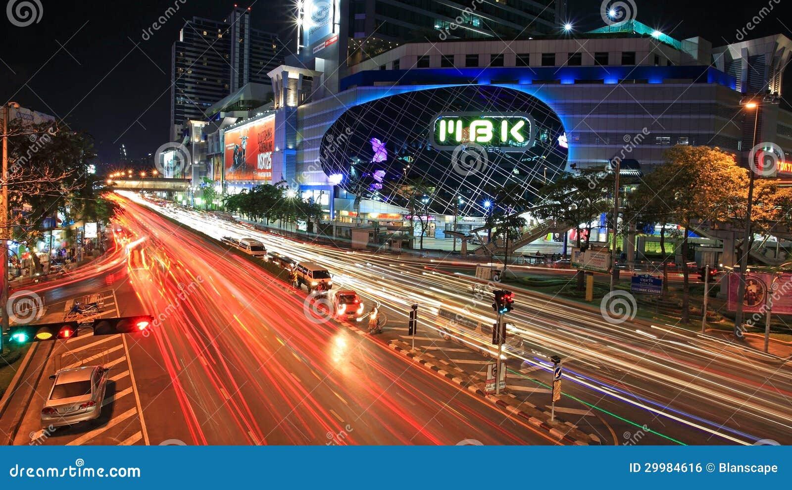 торговый центр ночь