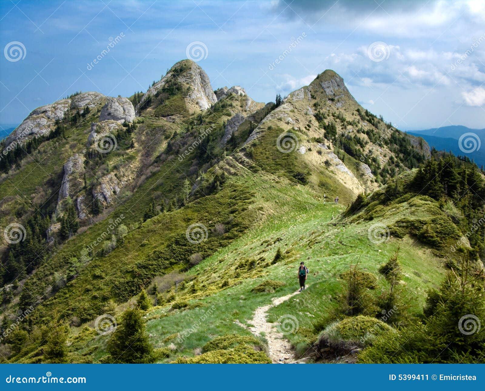 башни высоких гор