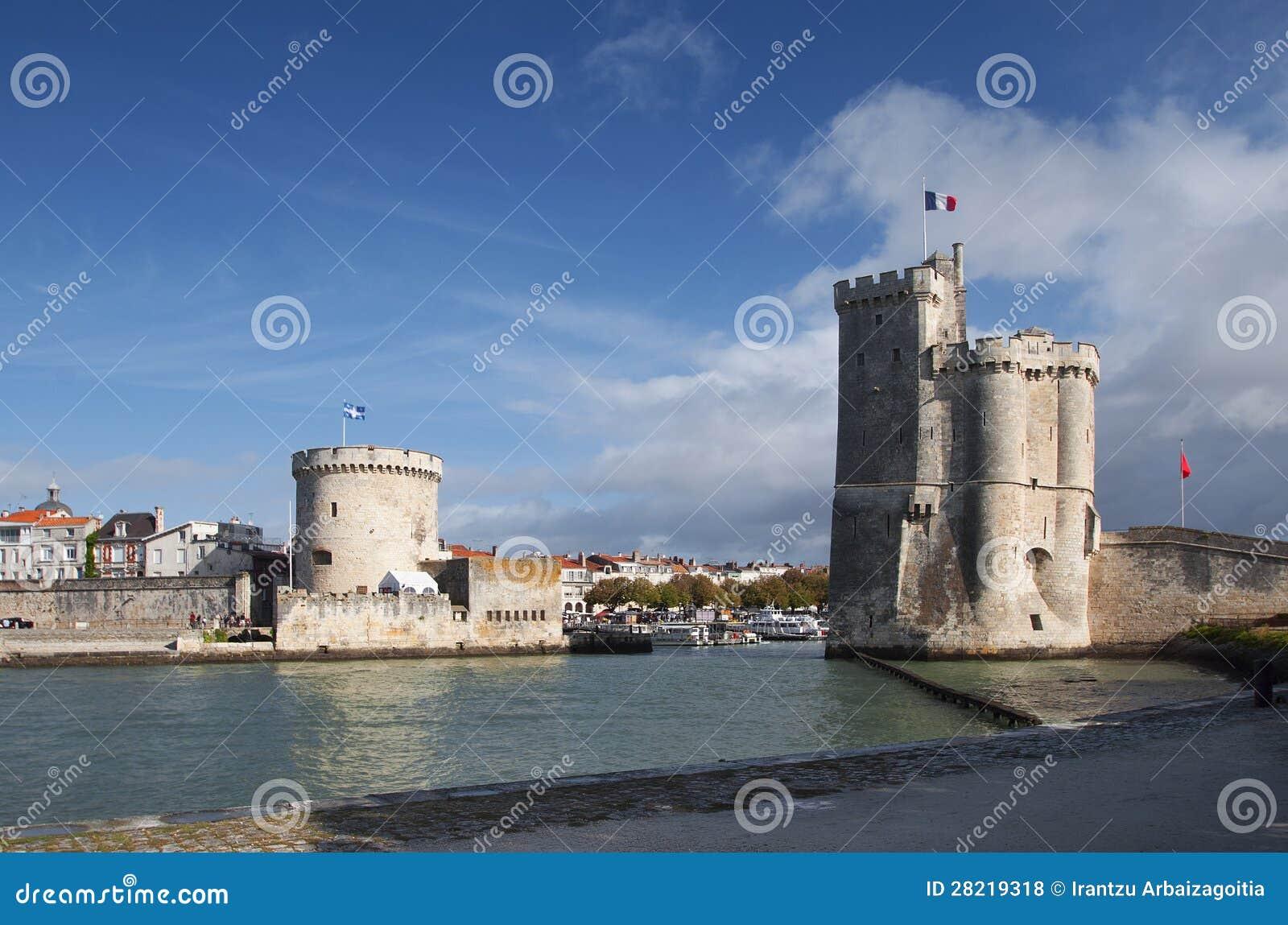 Башни порта La Rochelle, франция