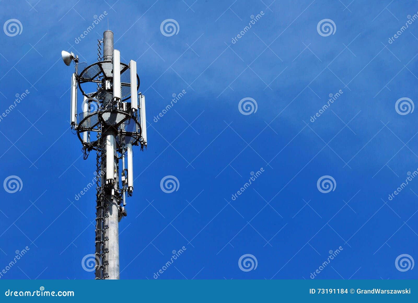 Башня антенны связи